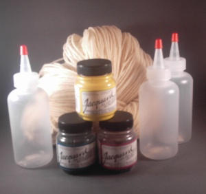 Primary Colored Yarn Dyeing Kit